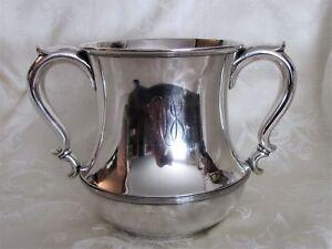 Vintage Gorham Sterling Silver Loving Cup Wine Cooler 1930's