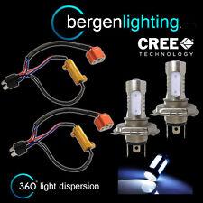 2x H4 white CREE LED Anteriori Abbaglianti e Anabbaglianti Kit Luci Anteriori Xeno hm501301