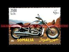 HARLEY DAVIDSON 1130 V-ROD VROD 2003 SOMALIA SOMALI Moto Timbre Stempel Stamp