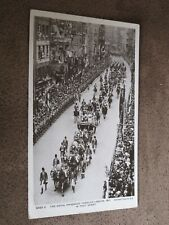 1911 fr RP postcard- King George V Coronation - Procession @ Fleet street London