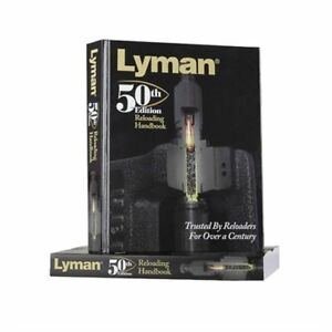 LYMAN 50TH EDITION RELOADING HANDBOOK SOFTCOVER MANUAL - BRAND NEW - FREE SHIP