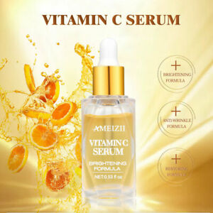 VITAMIN C serum with 100% HYALURONIC ACID Suitable for Anit Ageing/Wrinke Face