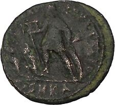 CONSTANTIUS II son of Constantine the Great w labarum Ancient Roman Coin i45817