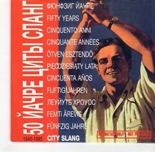 (GH692) Fuenfzig Jahre, City Slang - 1995 DJ CD