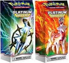Pokemon Platinum Arceus Stormshaper (Lightning) + Flamethrower (Fire) Theme Deck