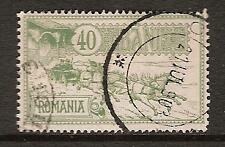 ROMANIA # 164 Used MAIL COACH LEAVING POST OFFICE