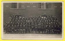 cpa CARTE PHOTO BELGIQUE 14e Régiment d'Artillerie CASERNE Hommage MORTS GUERRE