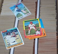 1970 1971 1972 1973 1974 1975 Topps w/ Traded and Mini You Pick 5 VG Stars, hi#