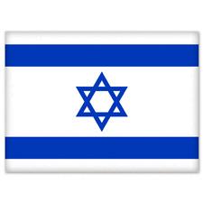 """Israel National Flag car bumper sticker decal 5"""" x 3"""""""