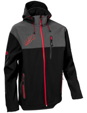Castle X Mens G3 Barrier Tri-Lam Soft shell Mid-Layer Jacket Red.Black