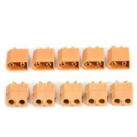 5 Pairs 10Pcs XT60 Male+ Female Bullet Connectors Plugs for RC Lipo Battery Lots