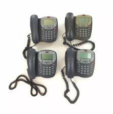 Lot Of 4 Avaya 2410 Digital Business Desk Phone Telephone Gray