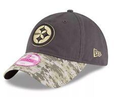 🏈 Pittsburgh Steelers New Era 9Twenty Salute To Service Adjustable Cap Hat