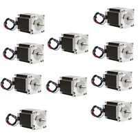 Stepper Motor 5PCS NEMA23 290 OZ-IN 1A CNC Mill /&Cutting 57BYGH//23HS motor