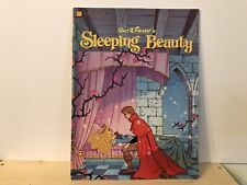 Vintage Sleeping Beauty Softcover Golden Book Book