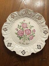 "Vintage Bradford Exchange Ltd Ed. ""The Queen Victoria Rose� B3197 Original Box"
