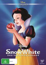 SNOW WHITE AND THE SEVEN DWARFS : NEW Disney Classics DVD