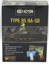 Bolt Action 402416005 WWII Japanese Type 95 Ha-Go Light Tank Warlord Games NIB
