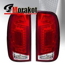 Ford F150 97-03/F250 99-07 2nd Gen LED  Rear Brake Tail Light Red Lens Chrome