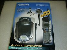 Panasonic KX-TG2226SV 2.4GHz - Silver Cordless Phone Answering System - New