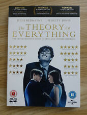 THE THEORY OF EVERYTHING DVD - NEW & SEALED - STORY OF JANE & STEPHEN HAWKING