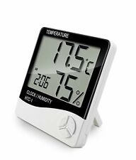 Indoor LCD Digital Humidity Temperature Thermometer Sensor Room Hygrometer Meter