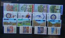 Malawi 1978 Easter 1979 Trees Railway 1980 Rotary sets MNH