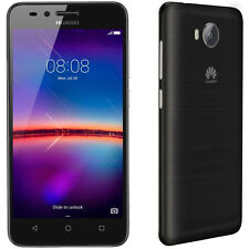"HUAWEI Y3II BLACK 4G 4.5"" OPTUS LOCKED QUAD-CORE 1GB/8GB ANDROID SMARTPHONE NEW"