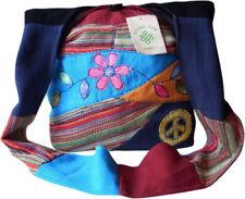 Bolsos de mujer grande de algodón color principal multicolor
