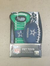 NFL Dallas Cowboys Texas Field Pull Rope Dog Toys Football & Field 2 Piece New