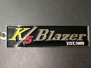 Chevy K5 Blazer Tribute Emblem Keychains (H15)