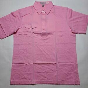 NWOT Vintage Dead Stock Titleist Polo Golf Shirt Men's XL Light Pink Sports #1