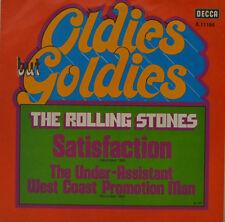 "ROLLING STONES - SATISFACTION - OLDIES BUT GOLDIES    DECCA 611166 7"" (J99L)"