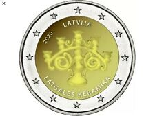 2 euros Lettonie 2020