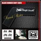 BLACK RUBBER SHIFT SOCK COVER PROTECTOR BOOT SHOE SILICONE SHIFTER FOOT PEDAL