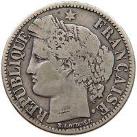 FRANCE 2 FRANCS 1870 #s16 597