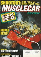MUSCLE CAR REVIEW 1991 MAY - '69 SUPER BEE & NOVA, 3X2 HISTORY, OLDS 442, L69