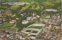 Air View University of California Stadium Berkeley CA 1944 Postcard - Posted