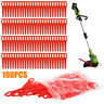 100x  Plastic Blade Set Replacement Blade For Cordless Grass Trimmer Accessories