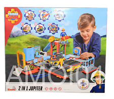 Fireman Sam 2 in 1 Jupiter Mercury Quad Figure, Accessories Light, Sound Playset