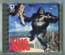 OST MUSIQUE DE FILM CD King Kong © 1997 MK 702 Italy Import Sticker John Barry