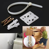 Baby safety anti-tip straps for flatTVand furniture wall strap lock protectioRS