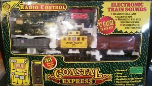 "(NOT WORKING) EZ-TEC Coastal Express 'G"" Gauge Radio Control Train Set No.36911"