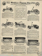 1924 PAPER AD Pioneer Cycle Horse Toy Express Coaster Wagon Tricycle Scooter