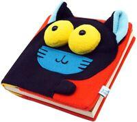 """Cat Notebook 80 Sheets Pocket Journal 6""""x 6"""" Creative Notebook Animal Notebook"""