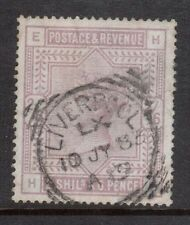 Great Britain #96a Used With Liverpool Cancel