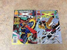 ADVENTURES OF X-MEN #4,8 LOT OF 2 NM 1996 MARVEL