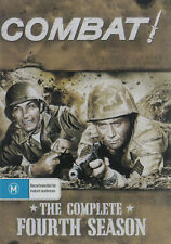 COMBAT! Complete 4th Season Brand New but UNSEALED 8-DVD Set Region 0 (Plays on