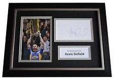 More details for kevin sinfield signed a4 framed autograph photo display leeds rhinos aftal coa