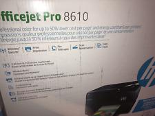 Brand New HP Officejet Pro 8610 Wireless All-in-One Inkjet Printer Replac 8600